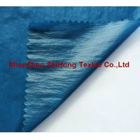 Quality Down proof Taffeta check crinkle fabric for jacket for sale