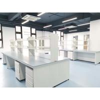 Buy cheap Epoxy Resin Lab Furniture ountertops for Center Bench / Blue Color from wholesalers