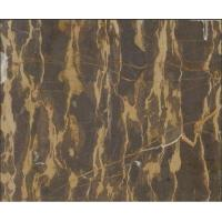 Quality Brown Marble, Golden Lines Marble, China Marble for Sale for sale