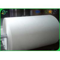 Quality One / Two Side Coated Glossy Art Paper Jumbo Roll For Making Stick Paper for sale