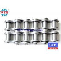 Quality High Temp Mechanical Transmission Components , Steel Roller Triplex  Roller Chain for sale