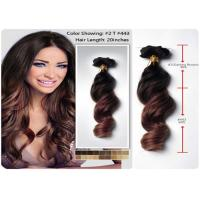 Quality 3pcs / Lot Deep Wave Remy Human Hair Extensions Temple Raw Unprocessed for sale