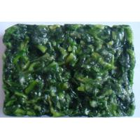 China frozen spinach block on sale