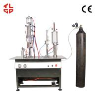 Quality Canned Fresh Air / Canned Oxygen Spray Filling Machines for sale