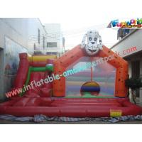 Quality Durable Commercial  Inflatable Bouncy Slide For Outdoor / Backyard for sale