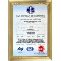 Shenzhen Sunny Glassware Co.,Ltd Certifications