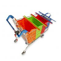 China Foldable Reusable Shopping Bags For Supermarket Grocery Trolley Bag Cart Bag on sale