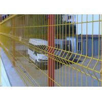 Quality Pvc Coated Welded 3d Curved Wire Mesh Fence for sale
