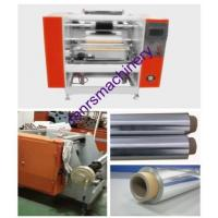 Quality Household  Roll  Aluminum Foil Rewinding Machine With CE ISO SGS / Mitsubishi Motor for sale