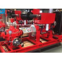 Quality 1500GPM @ 155PSI UL/FM Approval Diesel Engine Drive Fire Pump With Horizontal Centrifugal Split case Fire Pump for sale