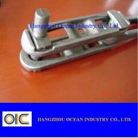 Quality drop forged chain and trolley Conveyor parts conveyor scraper chain for sale