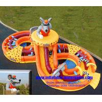 China Inflatable Jumping Toys Rent Inflatable Fun Heavy Duty Non Toxic Tasteless on sale