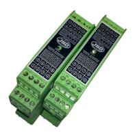 Buy high accuracy 4-20mA 1-in-2-out isolation transmitter(4-20mA/0-20mA/0-10V/0-5V/1 at wholesale prices