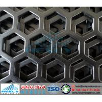 Quality Hexagonal Perforated Metal Sheets, Hexagonal hole perforated metal for sale