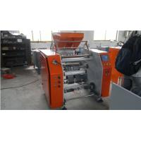 Quality Stretch Film slitter rewinder machine for Auto Film Cutting , PLC Control Rewinding Equipment for sale