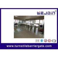 China RS232 Interface Intelligent Turnstile Barrier Access Control Turnstile Gate on sale