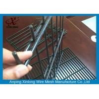 Quality Security 868 Welded Double Wire Fence / Anti Climb Welded Wire Mesh Fence for sale