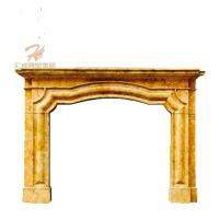 Quality Custom Wholesale Low Price Marble Stone Fireplace for sale