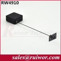 Quality Purchase Security Retractable Steel Cable ReelWith Adhesive ABS Plate / Stop Function for sale