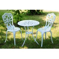 China 3 Pieces All Weather Outdoor Patio Cast Aluminum Garden Sets Furniture on sale