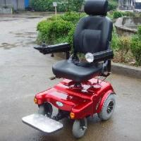 Quality Power Wheelchair with Lights And Pretty Design Used At Night (New Model) (QX-04-06) for sale
