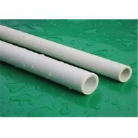 Quality Intensive Plumbing Ppr Pipe For Hot Water Custom Color High Temperature Resistance for sale