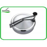 Normal Pressure Stainless Steel Manhole Cover , Tank Round Manhole Cover