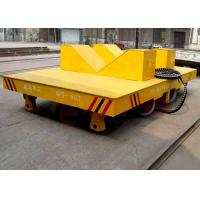 Quality Paper making factory rail transport carriage with V frame and hydraulic lifting device for sale