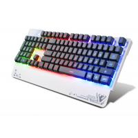 Quality Wired USB 3 color LED Pro Illuminated Gaming Keyboard For Gamer 104 Keys for sale