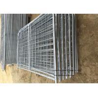 Quality 8ft -16ft Galvanized Metal Temporary Farm Fencing For Livestock Protection for sale