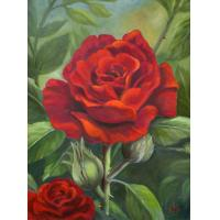 Quality art flower art painting room wall picture for sale
