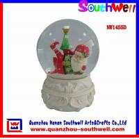 Quality Xmas Water Globe Decorations for sale