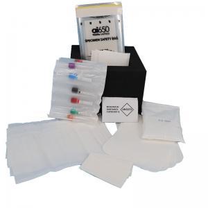 Quality UN Flow Cytometry HDPE Writable Pathology  Specimen Transport Bags for sale