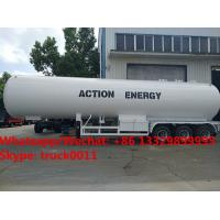 Quality High quality factory sale best price CLW brand 50m3 bulk propane gas tank semitrailer for sale, lpg gas trailer for sale for sale