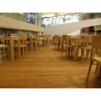 Buy cheap Birch Stained Color Handcraped flooring from wholesalers