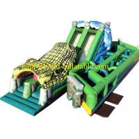 Buy cheap inflatable park ,inflatable amusement park,inflatable obstacle course playground from wholesalers
