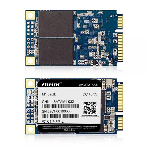 Buy Desktop Internal SSD 32GB mSATA III DC 3.3V 450mA FCC M1 Hard Drive at wholesale prices