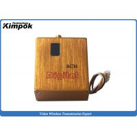 Quality 800mW UAV Video Transmitter Miniature 900Mhz ~ 1200Ghz FPV Video Link with Digital Display for sale