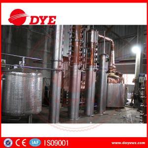 Quality 300L Copper Monshine Still Includes Distillation Column Vodka Distillery for sale