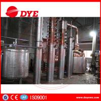 Quality Semi-Automatic Small CopperAlcohol Distiller System 3mm Thickness CE for sale