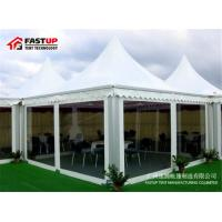 Quality High Strength Small Event Tent With Sides , Custom Outdoor Tents For Exhibition for sale