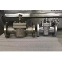 Quality Fully Lined API 6D 2 Way Plug Valve 2 Inch - 24 Inch With Replaceable Plug for sale