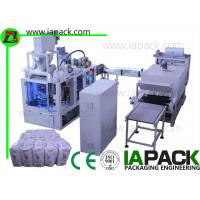 Quality 1KG-2KG Flour Paper Bag Packing Machine 6-22bags/min 7kw Power With Heat Shrinking for sale
