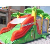 Quality Custom Large Inflatable Bouncer Slide PVC Tarpaulin With 6Lx4Wx4H Meter for sale