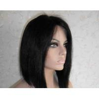 Quality Professional Lace Front Human Hair Wigs 8 Inch Short Wigs for sale