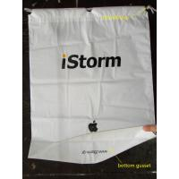 Quality Colorful CPE / LDPE Plastic Printed Drawstring Bags For Toys / Gift for sale