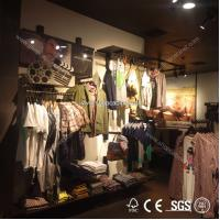 Quality hight quality Clothes Promotional shopping display shelf for sale