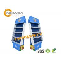 China OEM Custom Corrugated Paper Cardboard Pop Up Display Stands Multilayer on sale