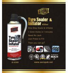 Quality White Aeropak Emergency Tyre Repair Sealant Inflator 450ml 650ml for sale