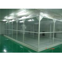 Quality Aluminum Profile 2'X4' FFU ISO 6 Softwall Clean Room for sale